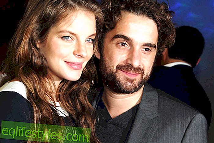 Yvonne Catterfeld and Oliver Wnuk got a son