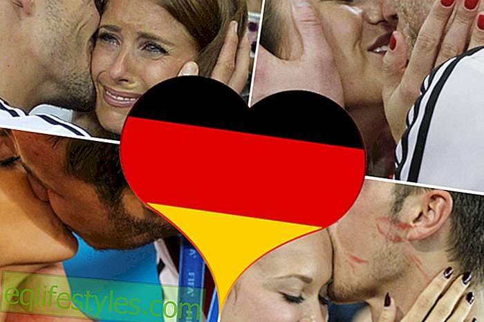 World Cup 2014: The most beautiful kiss moments of the world champions
