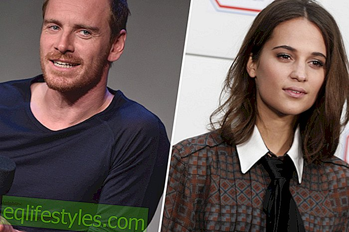 Michael Fassbender: in love with colleague Alicia Vikander
