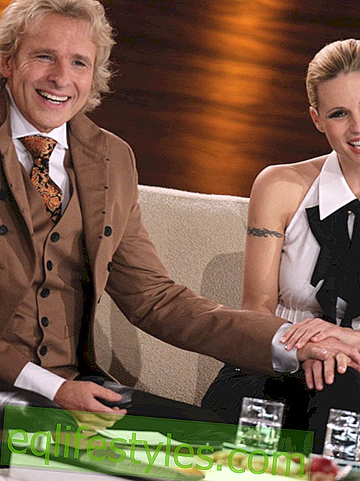 Michelle Hunziker: How close is she really to Thomas Gottschalk