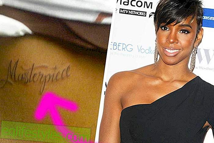 Kelly Rowland with tattoo