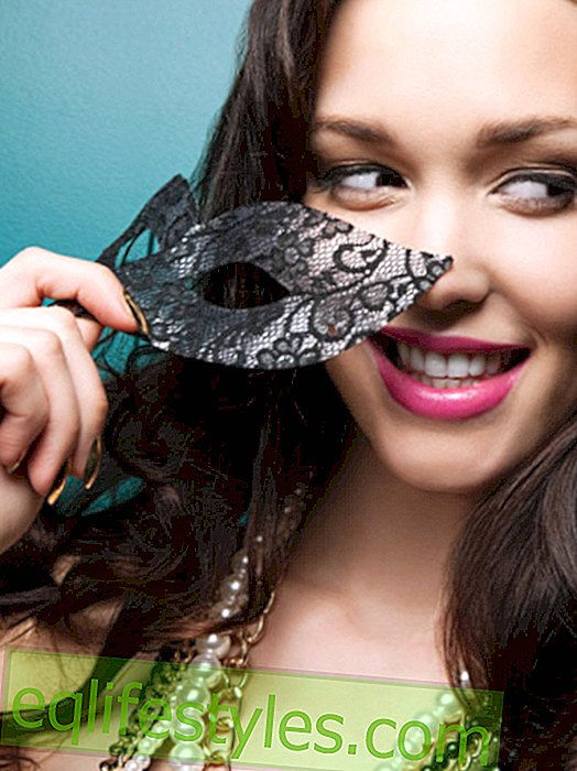 Fancy a mask?  Why we like to be mysterious