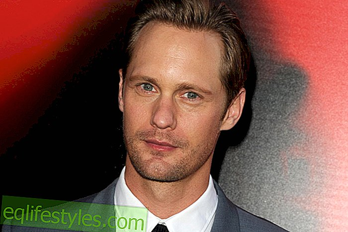 "Alexander Skarsgard: ""My dream woman is hard to find"""