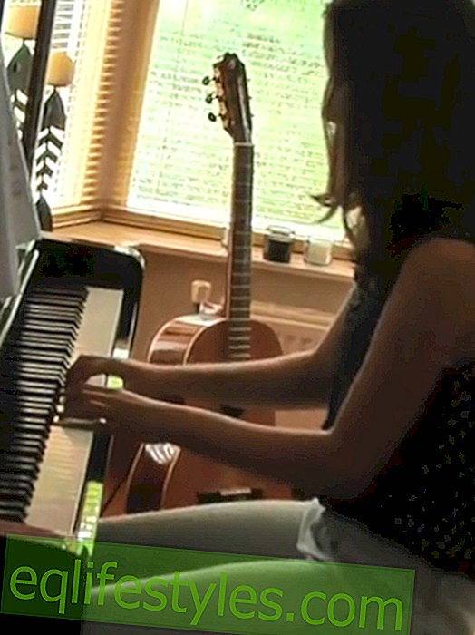 Anna van Keulen: Father posts video of his deceased daughter at the piano