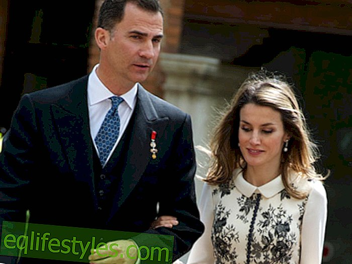 Life: Princess Letizia takes her chance