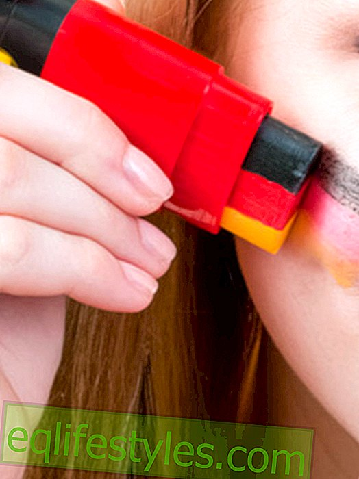 Life - World Cup make-up pencil: call back at Kik and Karstadt