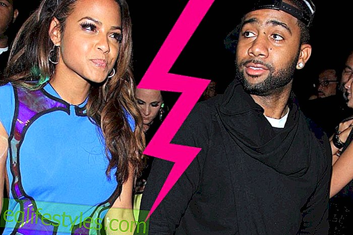 Liebesaus: Christina Milian and Jas Prince have solved their engagement