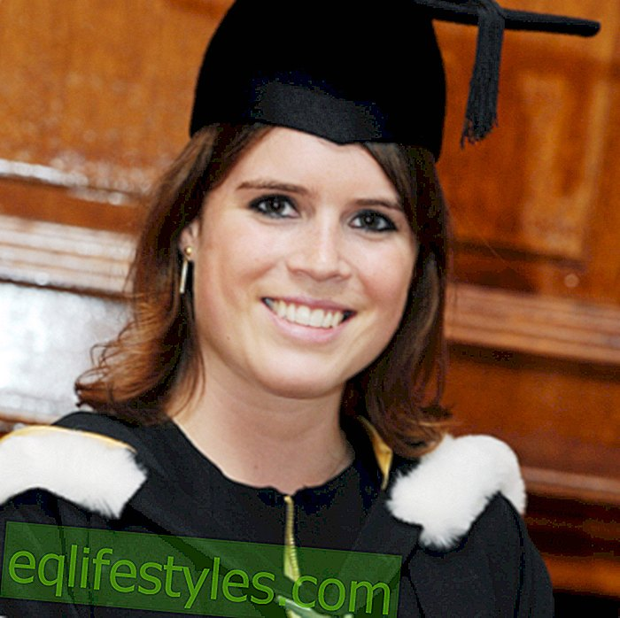 Princess Eugenie is proud of her university degree
