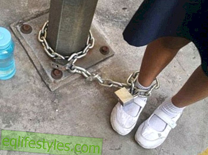 Life - Unbelievable Punishment Unbelievable Punishment: Mother chains daughter to lamppost