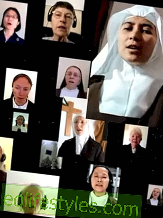 Nice video: virtual choir of 93 nuns