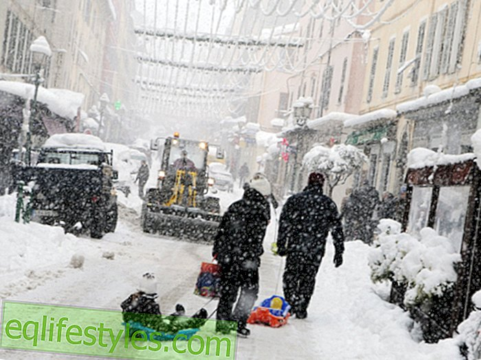 Weather PhenomenonWeather shock: There is snow in Corsica, Mallorca and Africa