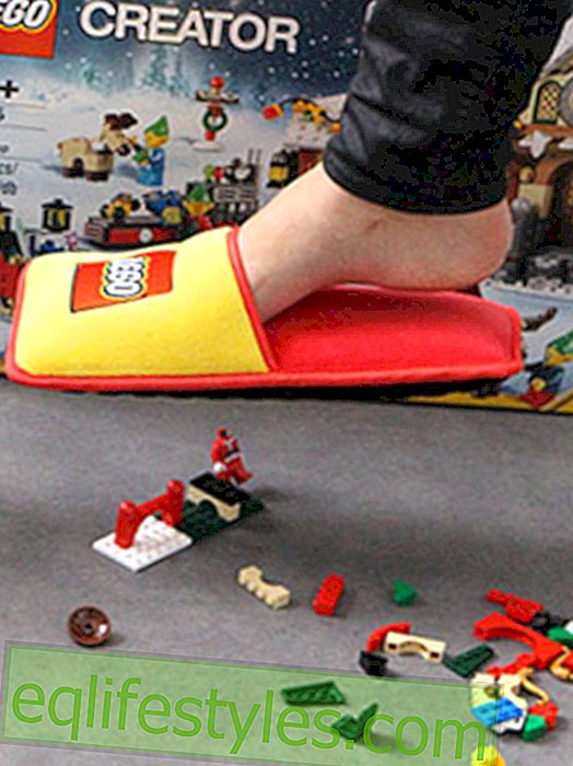 Life: This anti-LEGO slipper protects us from unbearable pain, 2015