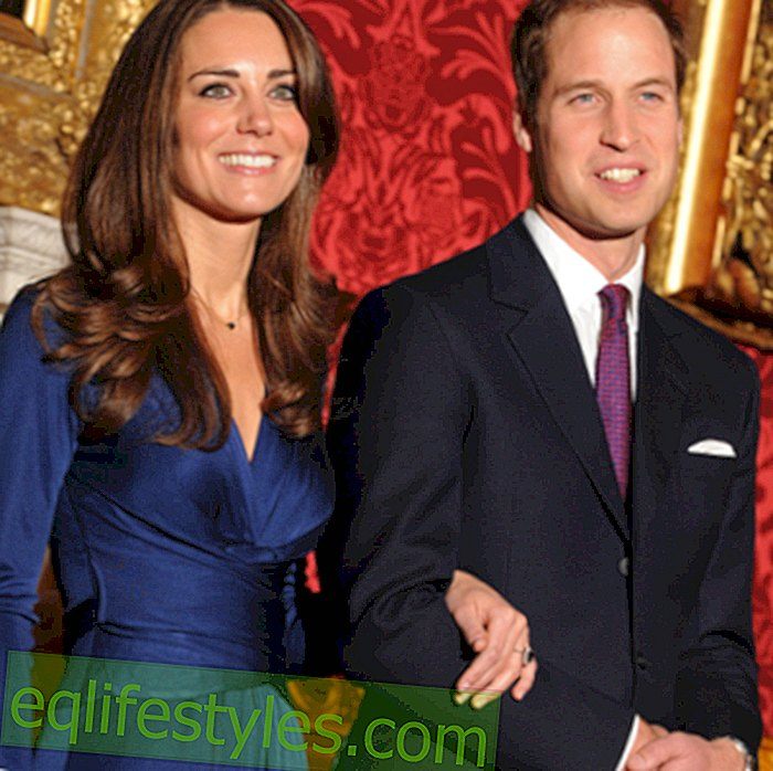 Bryllupsfest med William, Kate og Charles Spencer