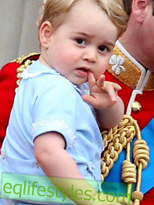 Prince George has a doppelganger