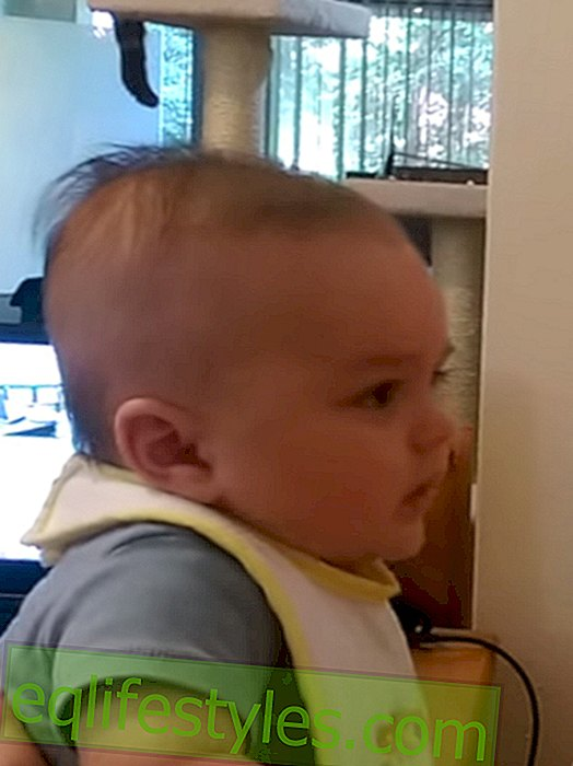 Video: 3 month old baby speaks!