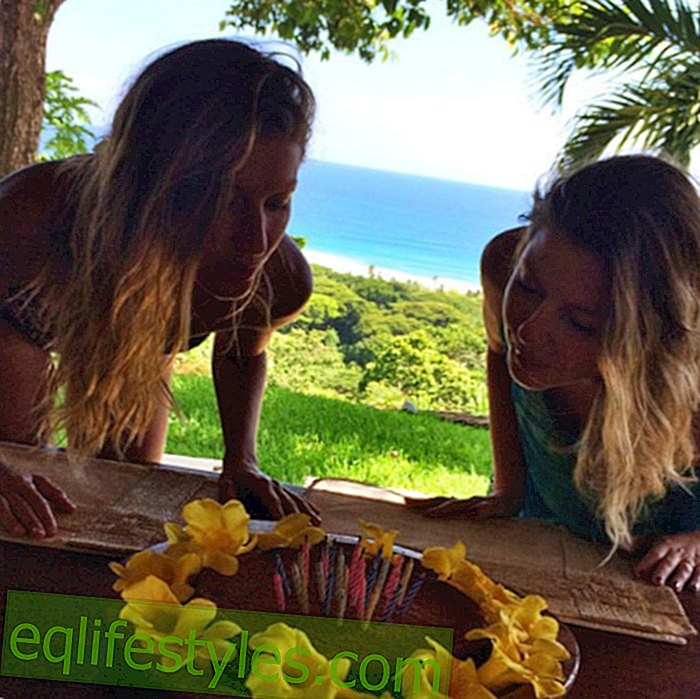 Life - Gisele Bundchen and twin sister Patricia celebrate their birthday