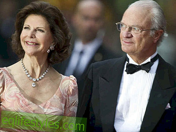 King Carl Gustaf and Queen Silvia: deserved holidays!