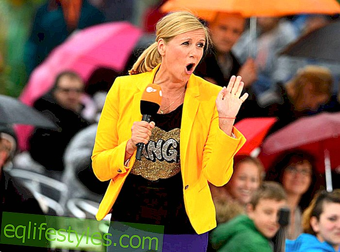 What was going on there? Shock for Andrea Kiewel on ZDF television garden - live TV scandal!