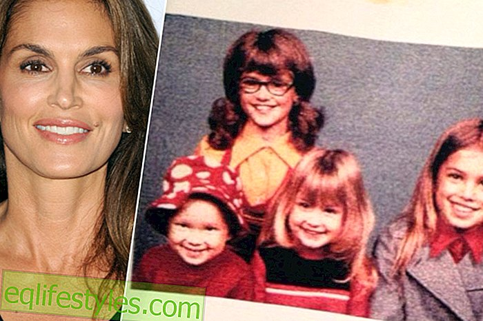 Cindy Crawford: So sweet were you and her siblings
