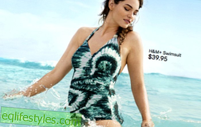 H & M adverteert oversized bikinimodel [FOTO'S]