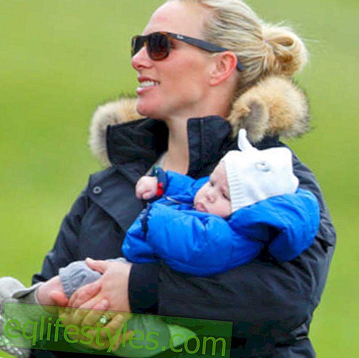 "Zara Phillips: ""Never without my daughter!"