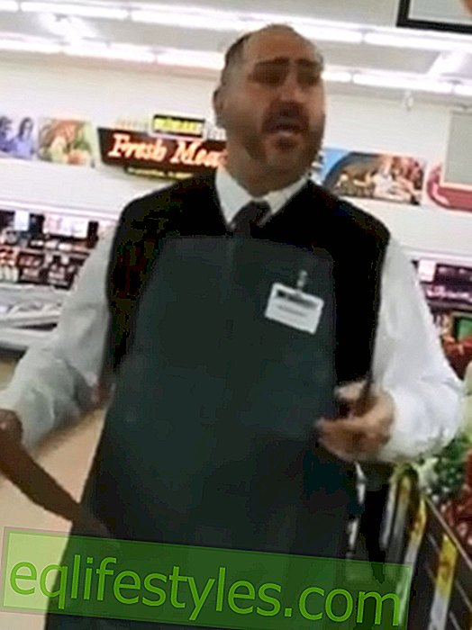 Supermarket Flash mob: Employees surprise customers with opera performance