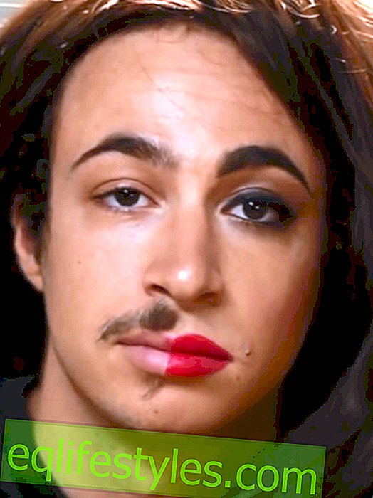 When men make-up - the video