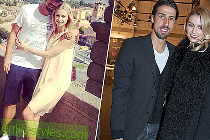 Life: Lena Gercke: Friend Sami Khedira is a lucky guy