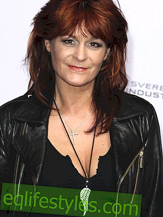 Andrea Berg speaks privately about her extended family
