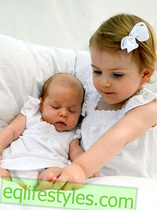 Life - Princess Leonore cuddles with Estelle from Sweden