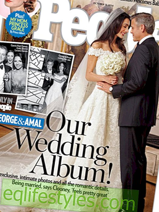 Fashion: Amal Alamuddin's wedding dress is already available for purchase
