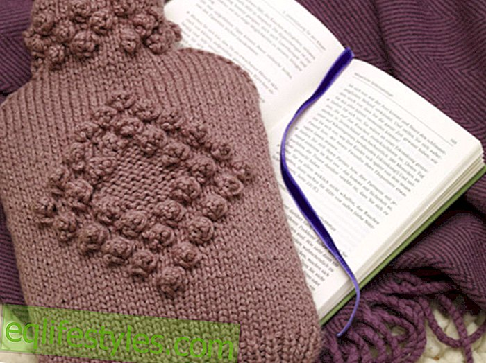 Instructions: Come what wool! Knitting instructions: How to knit a cuddly cover for your hot water bottle