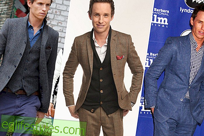 Fashion - The style of Eddie Redmayne