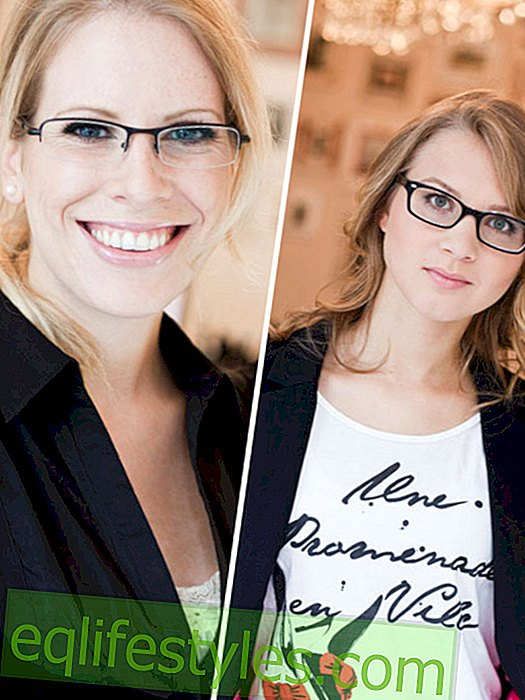Before and After: Score points with the right pair of glasses