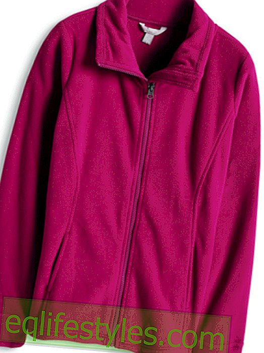 With outdoor fleece wind and weatherproof!