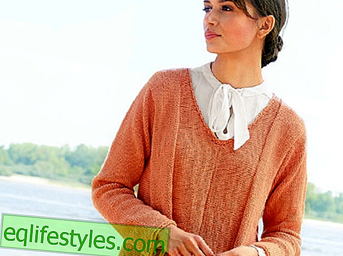 moda - Knitting PatternsK Sweter z dzianiny