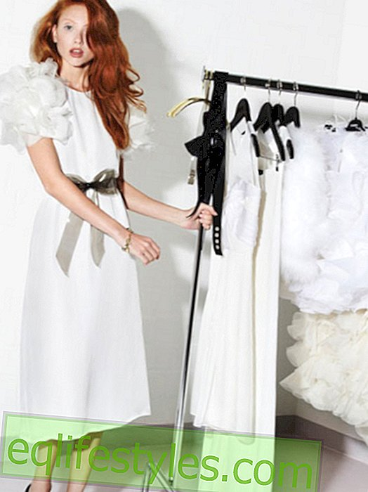 Insider tip for brides: caviar gauche wedding dresses for 100 euros!
