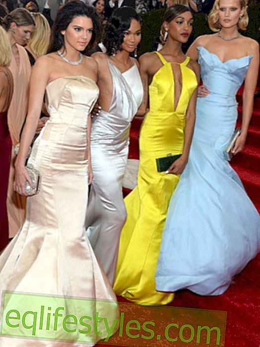 Fashion - These top models came to Topshop for the Met Gala 2014