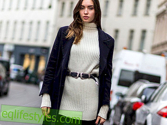Fashion trend So you now wear a belt over sweater and coat