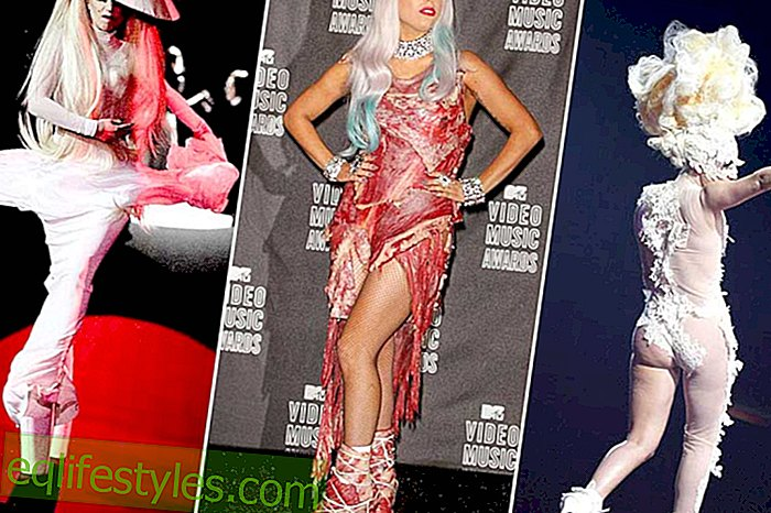The style of Lady Gaga