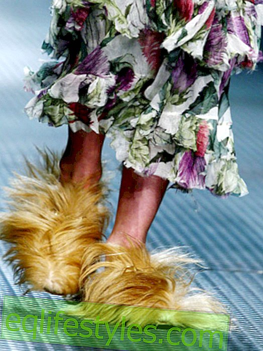 Hairy shoes - the new scary trend on our feet?