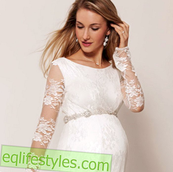 Wedding dresses for expectant momsWedding dresses for pregnant women: marry with baby belly