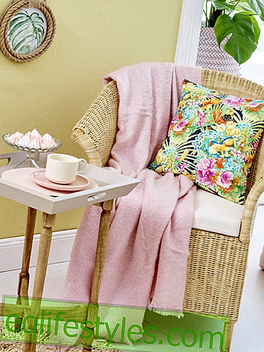 Fashion - Simple sewing instructions for a tropical cushion cover