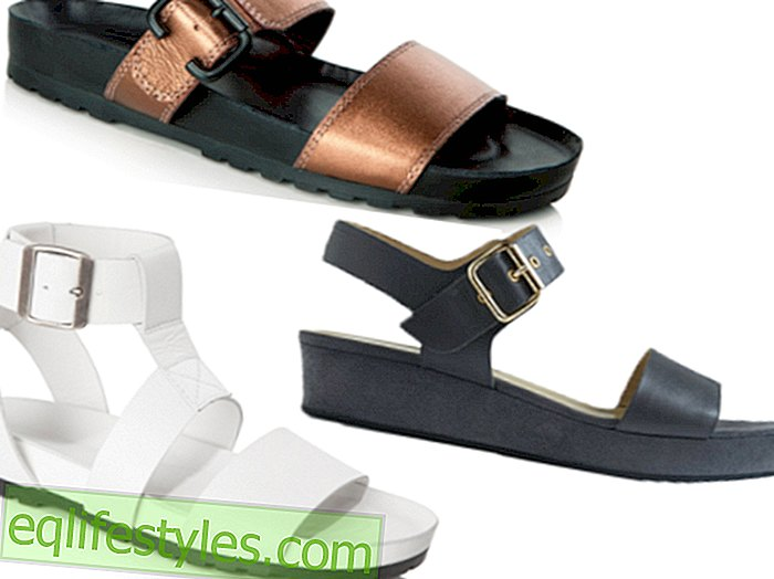 Trend Guide: Sandals    la Birkenstock are back
