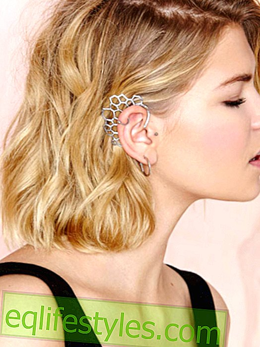 Jewelry Trends 2014: That's why we love the cool piercings for the ear