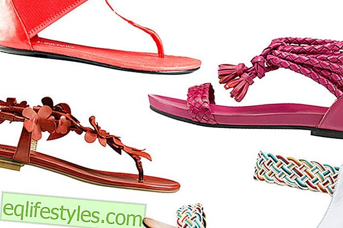 Fashion - Trendy Sandals - Flats, Straps and Co.