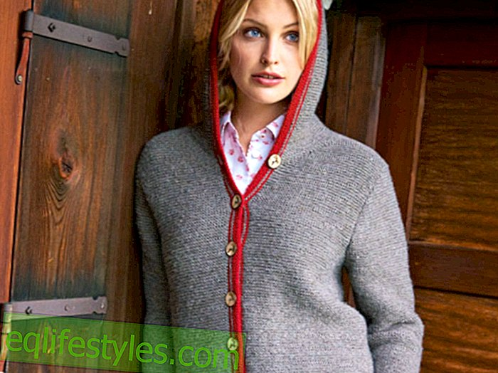 Knitting instructionsKnitting the fashion hooded jacket: It's that easy