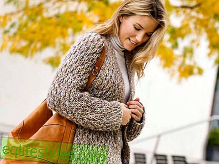 StrickanleitungMelierter Mantel: How to knit this trend piece for autumn