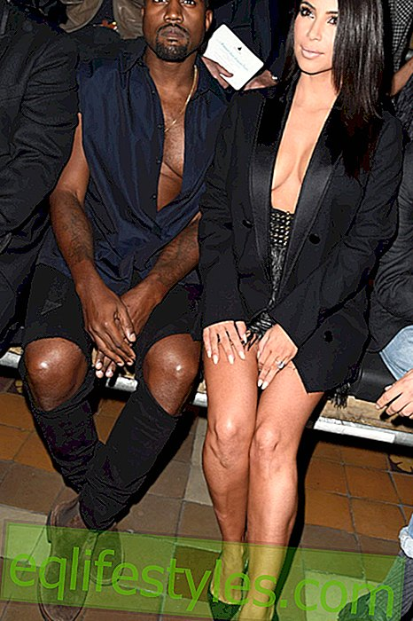 mode - Kim Kardashian & Kanye West fejler i Paris Fashion Week 2014