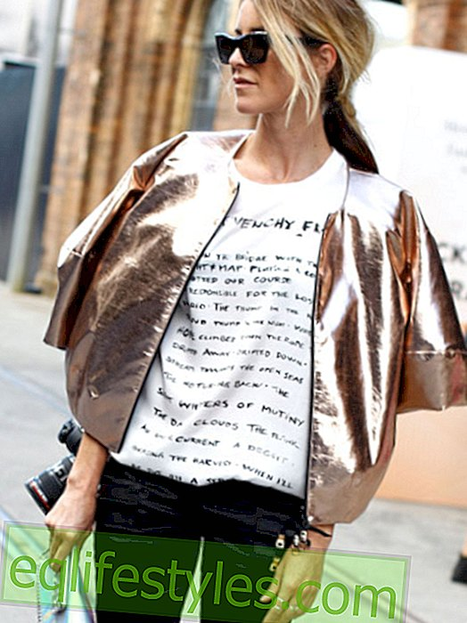 Fresh off the press: the T-shirt with statement print